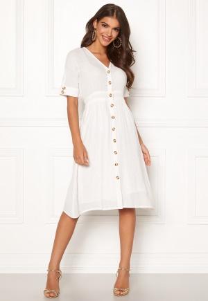 Y.A.S Meg Dress Star White XL
