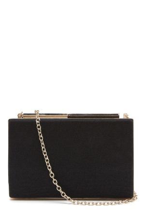 Menbur Caja Glitter Bag Black One size
