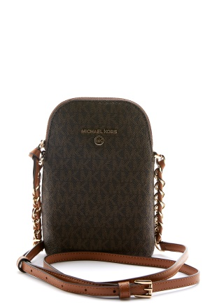 Michael Michael Kors Chain Crossbody Brown/Acorn One size