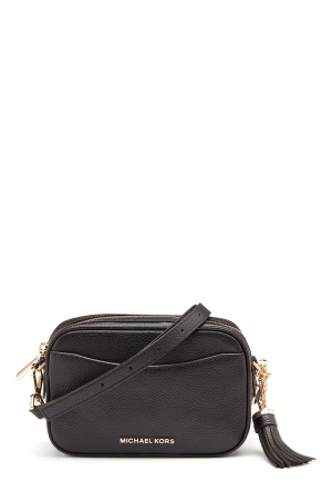 Michael Michael Kors Mercer Crossbody Black One size