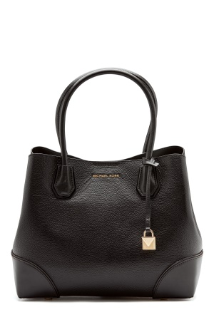 Michael Michael Kors Mercer Gallery Bag Black One size