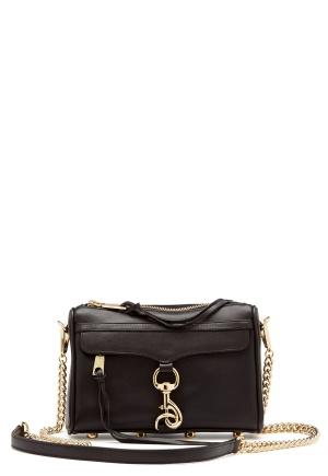 Rebecca Minkoff Mini Mac Bag Black One size
