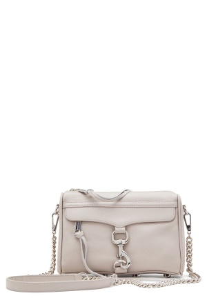 Rebecca Minkoff Mini Mac Leather Bag Putty One size