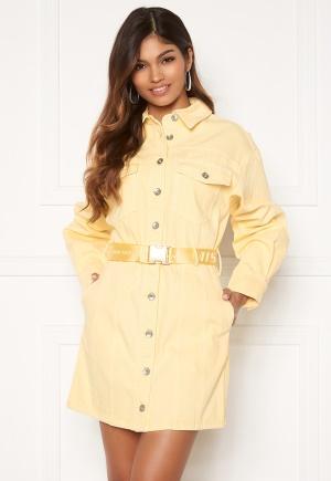 Miss Sixty DJ3790 Dress Yellow L