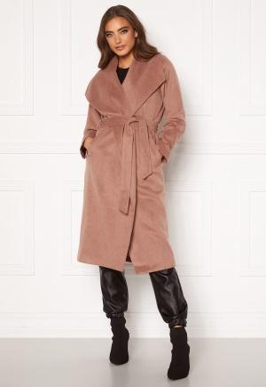 Moa Mattsson X Bubbleroom Pointy collar coat Brown 34