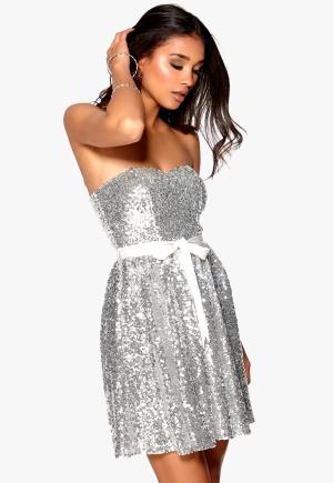 Image of Model Behaviour Ellen Dress Silver S