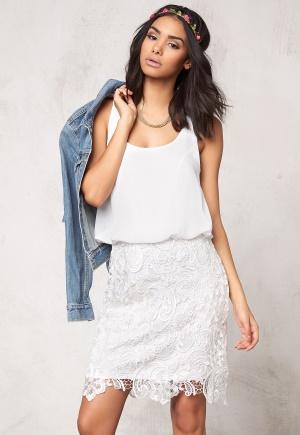 Image of Model Behaviour Emma Dress White 34
