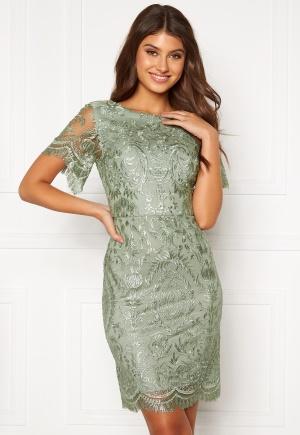 Moments New York Alexandra Beaded Dress Light green 32