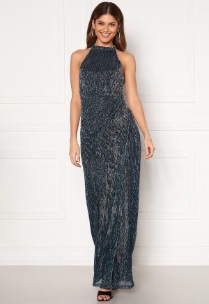 Moments New York Alice Lurex Gown Blue 34