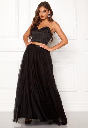 Moments New York Ava Mesh Skirt Black 40