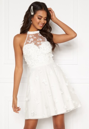 Moments New York Bianca Skater Dress White 32