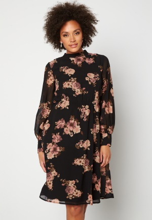 Moments New York Chloe Chiffon Dress Floral 44