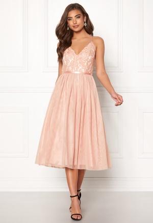 Moments New York Daphne Mesh Dress Dusty pink 34