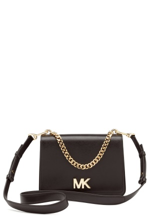 Michael Michael Kors Mott Chain Shoulder Bag Black One size