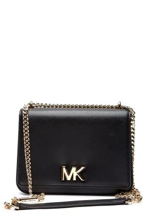 Michael Michael Kors Mott LG Chain Shoulder 001 Black One size