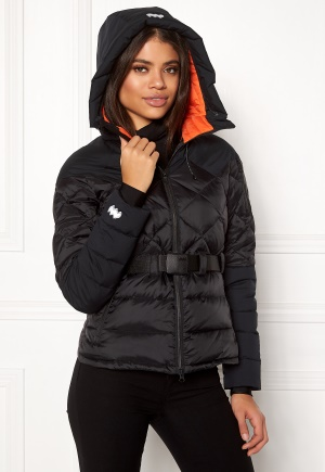 Mountain Works Foxy Hybrid Down Jacket 001 Black XXL