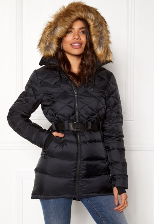 Mountain Works Foxy Lace Down Parka Black S