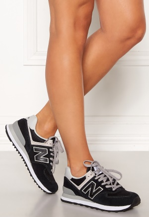 New Balance WL574 Sneakers Black/White 38