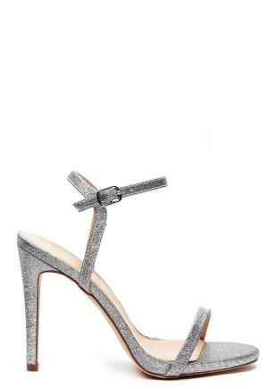 4e919af1d64 New Look Santorini Strappy Sandal Silver - Bubbleroom