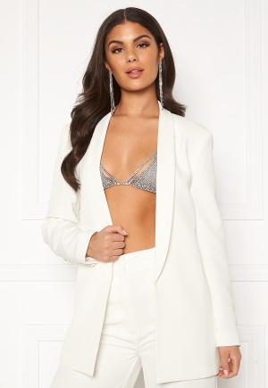 Nicole Falciani X Bubbleroom Nicole Falciani Suit Jacket White 34