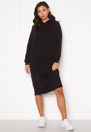 Noisy May Helene L/S Sweat Dress Black L