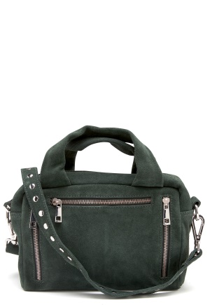 Nunoo Donna New Suede Bag Green One size