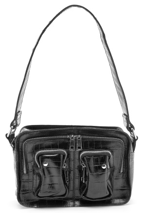 Nunoo Ellie Bag Croco Black One size