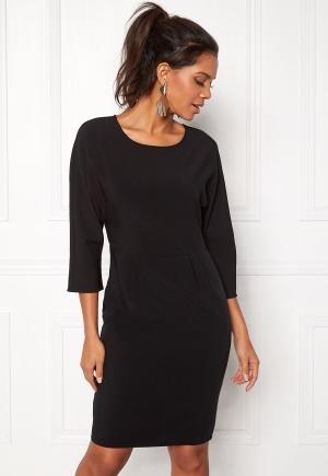 OBJECT Abella 3/4 Dress Black 34