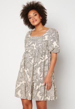 OBJECT Adilla 2/4 Dress Sandshell AOP 34