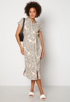 OBJECT Adilla S/S Dress Sandshell AOP 38