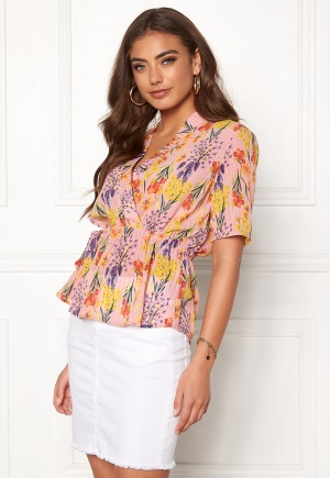 OBJECT Ally S/S Top Orchid Bloom 34