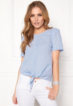 OBJECT Cecilia s/s Top Chambray Blue 38 thumbnail