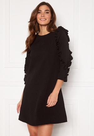 OBJECT Evita 3/4 Dress Black XS