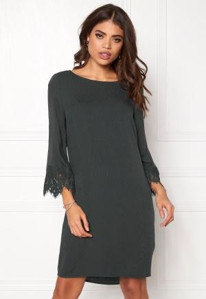 OBJECT Kathrine 3/4 Dress Asphalt 36