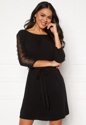 OBJECT Lauren 3/4 Dress Black 40