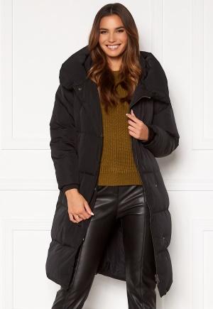 OBJECT Louise Long Down Jacket Black M