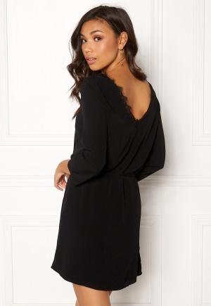 OBJECT Lourdes 3/4 Lace Dress Black 42
