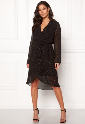 OBJECT Novelle L/S Nell Dress Black 34