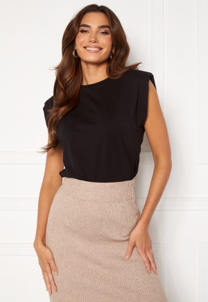 OBJECT Stephanie Jeanette S/S Top Black M