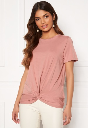 OBJECT Stephanie S/S Top Ash Rose L