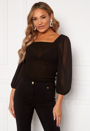 OBJECT Wilfred 3/4 Smock Top Black 38