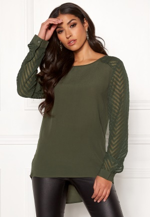 OBJECT Zoe L/S Top Forest Night 34
