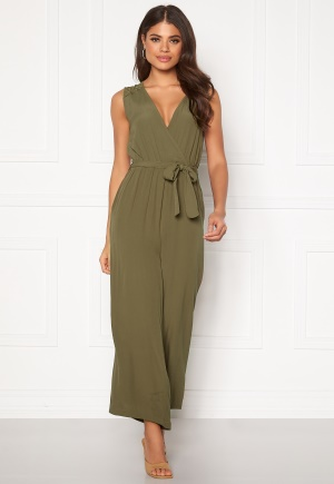 OBJECT Zoeella Bay Jumpsuit Burnt Olive 34