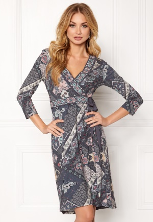 Image of Odd Molly Brunch Time Dress Asphalt S (1)