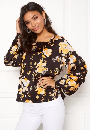 Image of Odd Molly Love Bells Blouse Almost Black M (2)