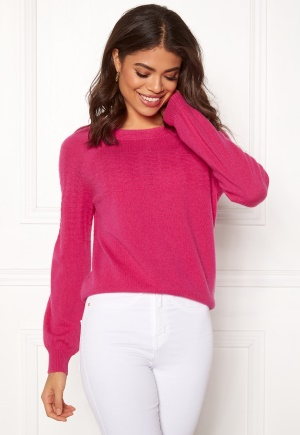 Image of Odd Molly Soft Pursuit Sweater Hot Pink XL (4)
