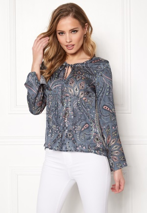 Image of Odd Molly Triumph Blouse Misty Blue S (1)