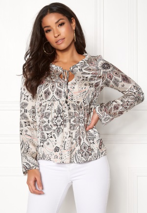 Image of Odd Molly Triumph Blouse Offwhite M (2)