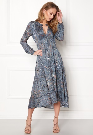Image of Odd Molly Triumph Long Dress Misty Blue XL (4)