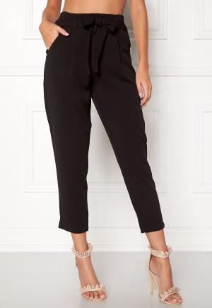 ONLY Becky Belt Ankle Pant Black L/32 ONLY